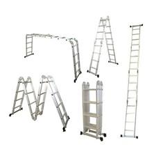 Rebríky hliníkové multifunkčné G21 GA-SZ-4×3-3,7M
